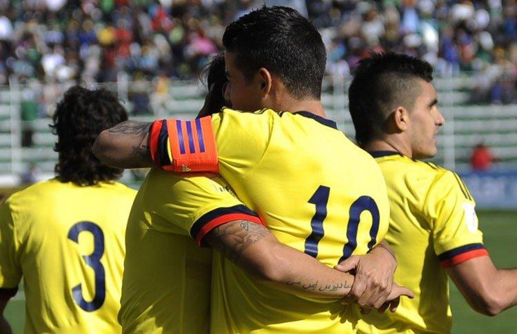 La escuadra colombiana consiguió una gran victoria en la altura de La Paz.