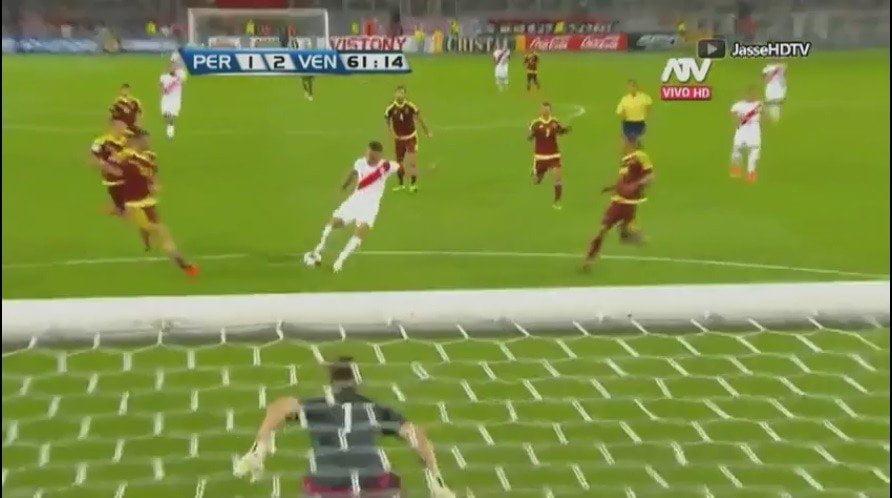 Revive aquí el gol de PaoloGuerrero / ATV y CMD
