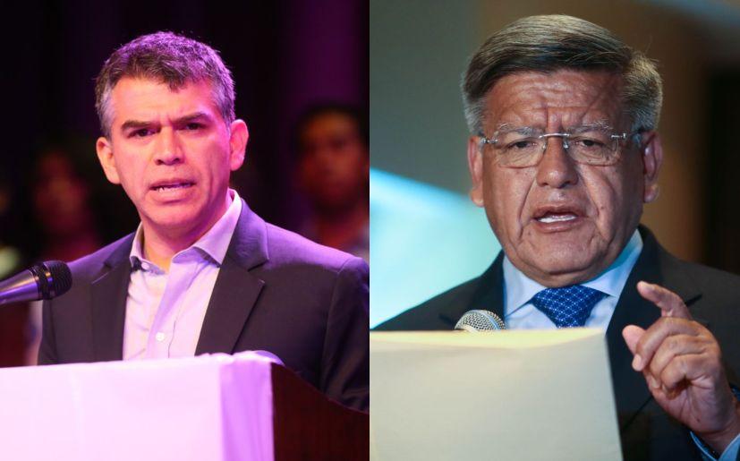 César Acuña y Julio Guzmán