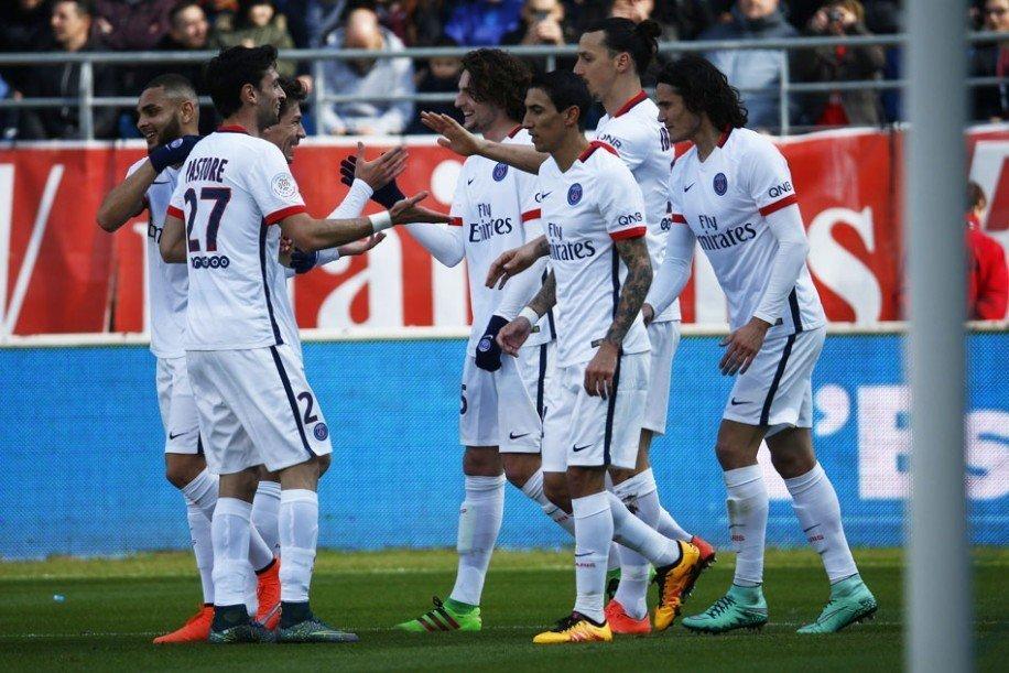 El PSG  no  tuvo competencia y aseguró la Liga 1 con ocho fechas de anticipación.