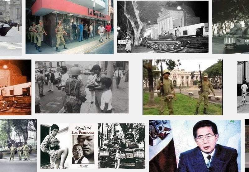 Así fue el autogolpe del 5 de abril de Alberto Fujimori