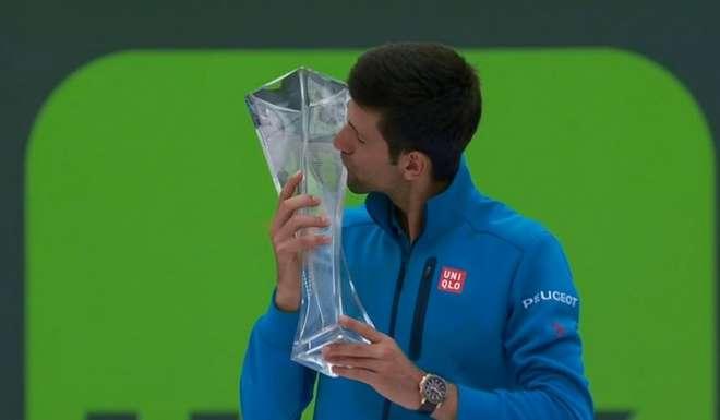 Novak Djokovic se consagró en Miami como máximo ganador de Torneos Masters 1000.