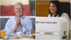 Keiko Fujimori y PPK a segunda vuelta según conteo rápido