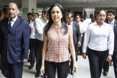 Nadine Heredia llega al Congreso