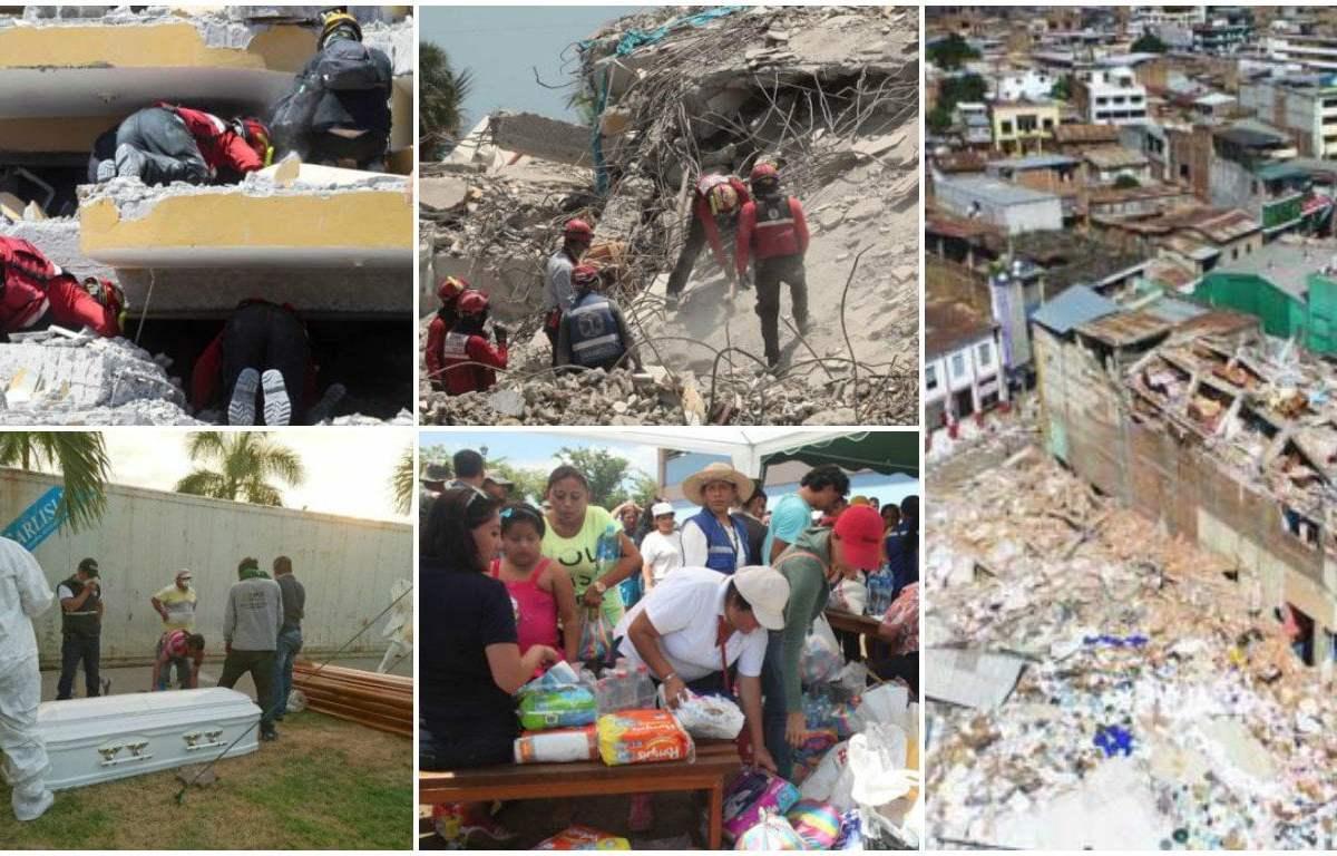 Terremoto en Ecuador (El Comercio de Quito)