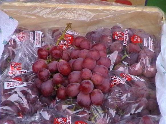 La uva peruana es una de las preferidas de los taiwaneses.