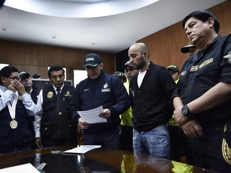 Gerson Gálvez 'Caracol' en manos de la justicia