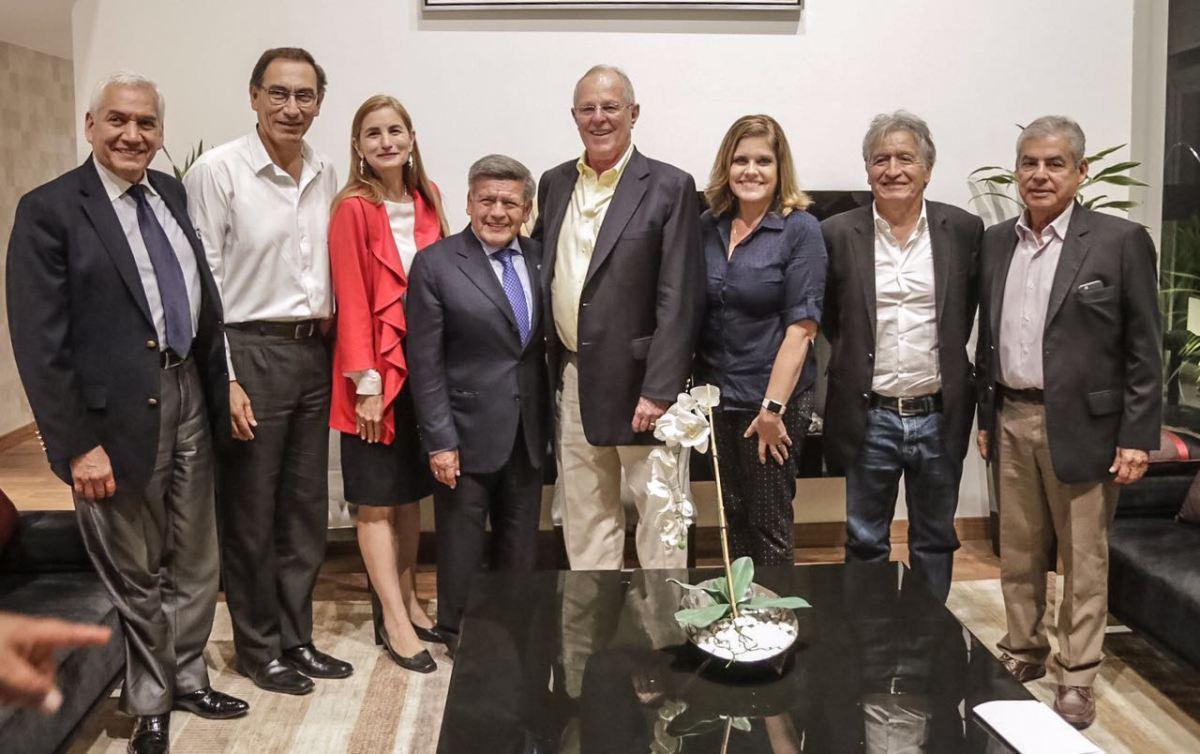 PPK , César Acuña y su equipo