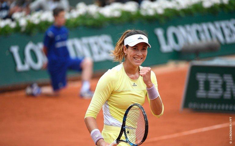 Muguruza ya está dentro de las ocho mejores del Roland Garros.