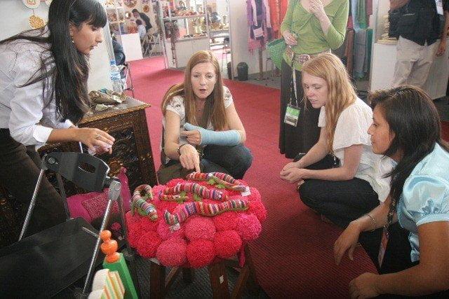 Las ferias Perú Moda y Perú Gift Show fueron eventos internacionales  realizados en Lima que permitieron exhibir con rotundo éxito productos textiles, de confecciones y decoración.