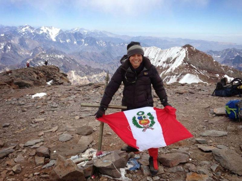Silvia Vásquez: la primera peruana que conquista el Everest
