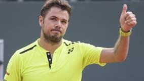 Wawrinka revirtió un difícil partido y avanzó a segunda fase del torneo cuyo título defiende.