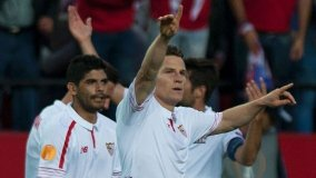 El campeón Sevilla nuevamente logró llegar a la final de la Europa League.