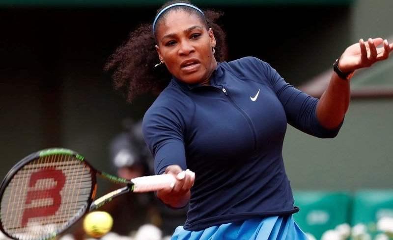 Serena Williams celebró en Roland Garros sin exigirse.