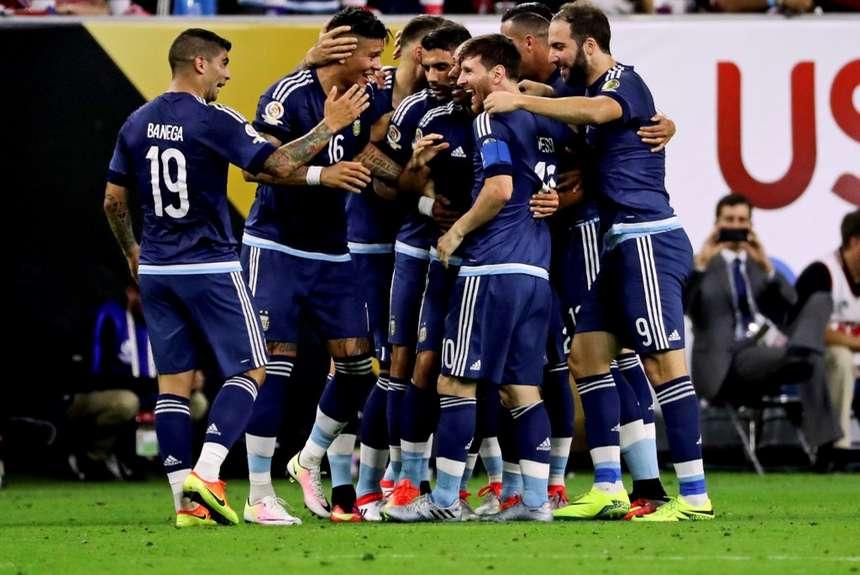 Argentina llegó a la final de la Copa América Centenario y Messi se convirtió en el máximo goleador de la historia con  su selección.