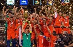 Chile revalidó su título de Campeón de América.