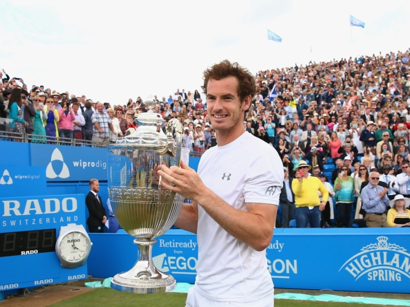 Murray conquistó nuevamente el ATP de Queen's.