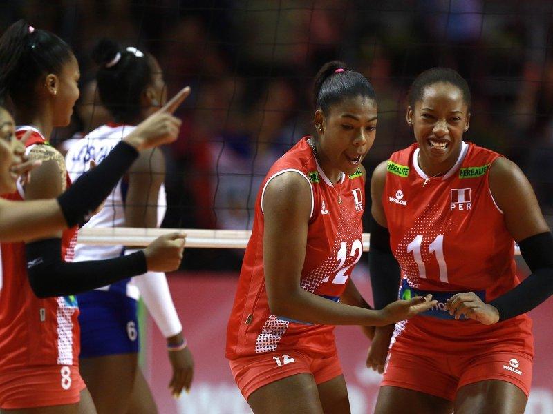 Perú celebró ante Cuba en Chiclayo.