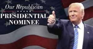 Donald Trump fue proclamado