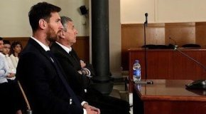Leo Messi en problemas