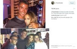 Jennifer Lopez y Cristiano Ronaldo Juntos