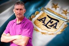 Bauza fue elegido por la AFA como nuevo DT de Argentina.