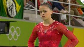 Ariana Orrego tiene un gran  futuro en la gimnasia.