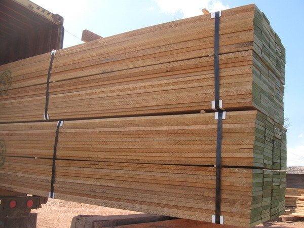 Valor de las exportaciones de madera cayeron entre enero y junio.