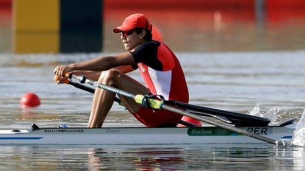 Renzo León  se despedirá mañana de los Juegos Olímpicos.