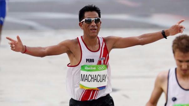 Raúl Machacuay fue el atleta peruano mejor ubicado en la Maratón de Río.
