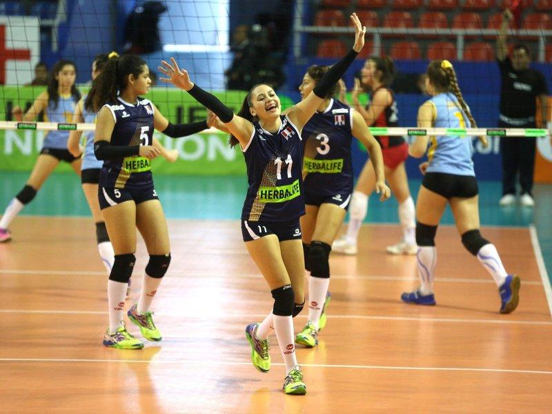 Perú celebró un nuevo triunfo en el Sudamericano Sub 18.