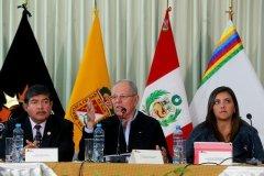 El presidente de la nación Pedro Pablo Kuczynski se reunió en Tacna con gobernadores de la Macro Región Sur.
