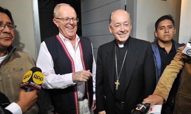 Pedro Pablo Kuczynski y Juan Luis Cipriani
