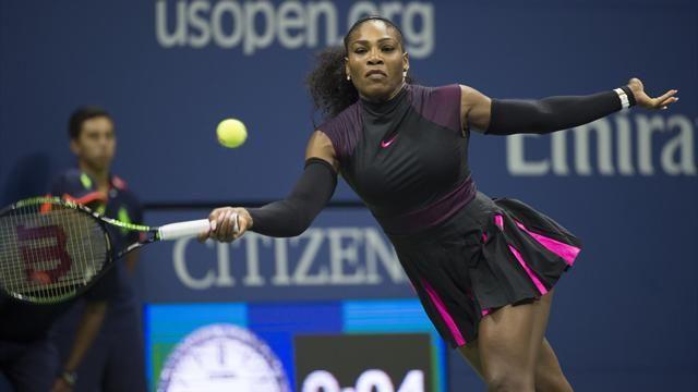 Serena Williams impuso su jerarquía en el inicio del US Open.