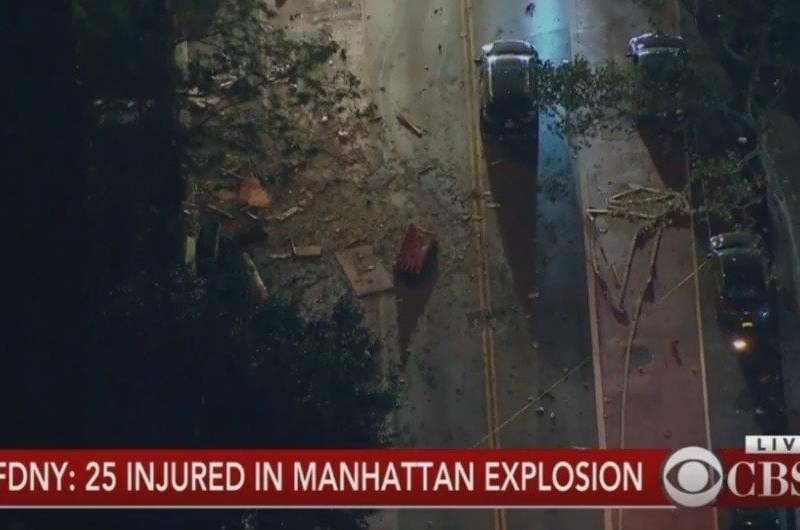 Explosión en Nueva York