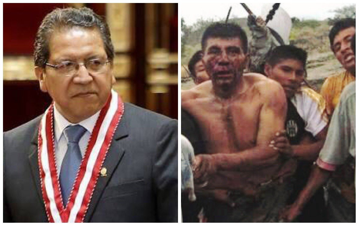 Fiscal Pablo Sánchez y el Baguazo