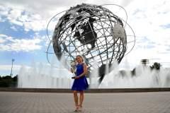 La bella tenista alemana Angelique Kerber es la nueva reina del ranking femenino.