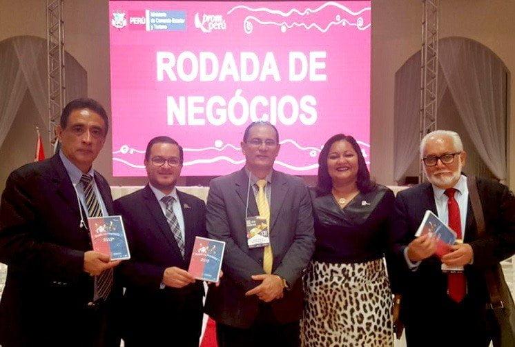 Empresarios peruanos establecieron negocios con sus pares brasileños en el Estado de Rondonia.