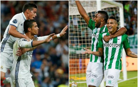 Real Madrid y Nacional de Colombia son favoritos para disputar la final del Mundial de Clubes.