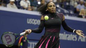 Serena Williams continúa sólida en el Grand Slam estadounidense.
