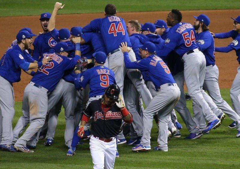 Los Cachorros de Chicago se consagraron como los mejores de las Grandes Ligas de Béisbol.