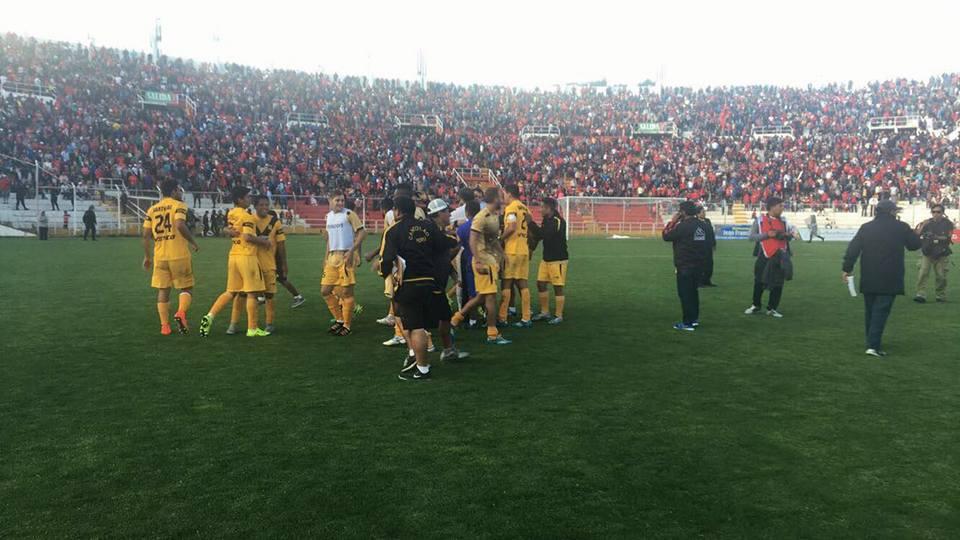 Cantolao alcanzó la cima de la segunda división venciendo al Cienciano en el Cusco.
