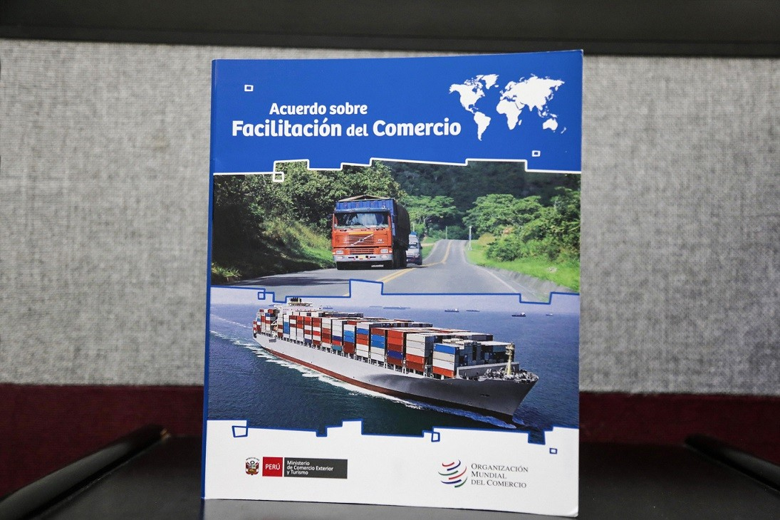 La guía es documento que permitirá al sector público y privado conocer los beneficios que traerá consigo la implementación del referido AFC para nuestro país.