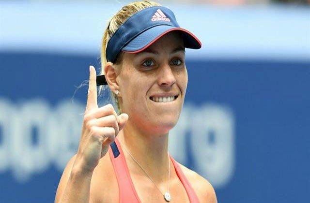 La alemana Angelique Kerber es la líder del ranking WTA.