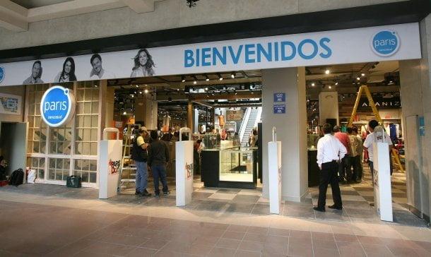 Chilena Cencosud compró prendas de vestir peruana que serán comercializadas en tiendas por departamento París.