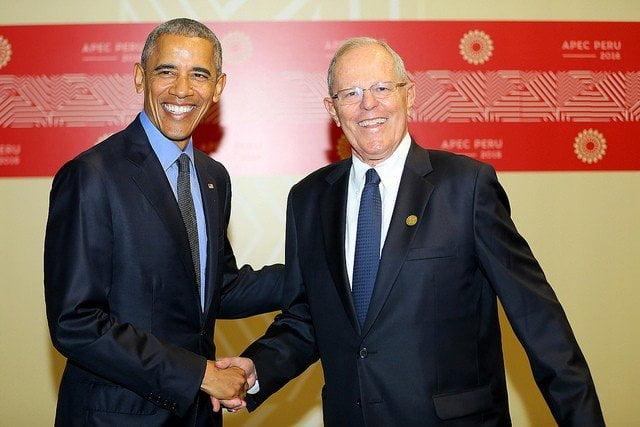 Barack Obama y Pedro Pablo Kuczynski abordaron temas bilaterales entre Estados Unidos y el Perú.