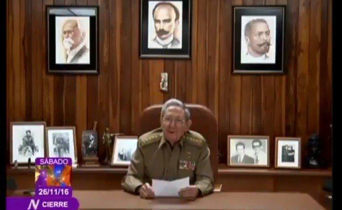Así anunció la TV cubana la muerte de Fidel Castro [VIDEO]