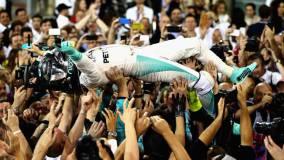 Nico Rosberg ganó el campeonato mundial de Fórmula 1.