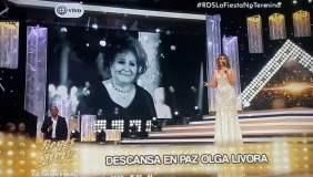 Gisela triste por muerte de mamá de Carlos Cacho