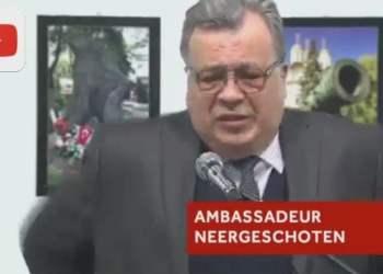 El embajador de Rusia en Turquía murió tras ser baleado en Ankara